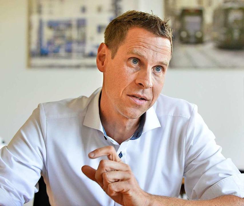 201.000 Euro: Oliver Benz, Kaufmännischer  Vorstand der  Verkehrs-AG  | Foto: Michael Bamberger