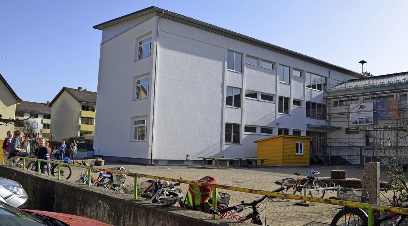 Seit dieser Woche ist wieder Leben in ...e Zweitälerland-Schule Gutach zurück.   | Foto: Nikolaus Bayer