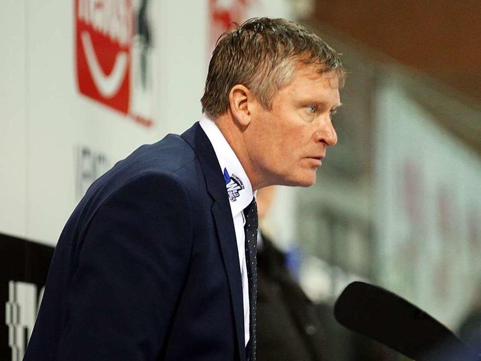 Trainer Niklas Sundblad hat seinen Ver... Wild Wings um zwei Jahre verlängert.   | Foto: Dieter Reinhardt