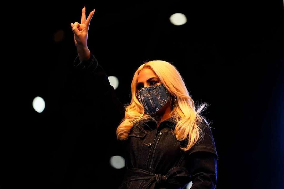 Lady Gaga    Foto: Andrew Harnik (dpa)
