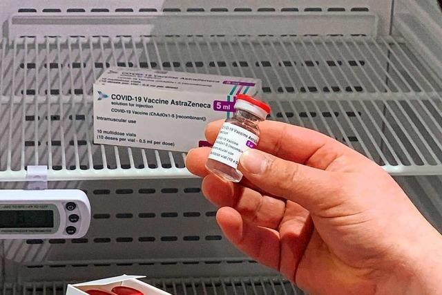 ZIZ Offenburg: Bis 7. April stehen 20 800 Impfdosen Astrazeneca zur Verfügung