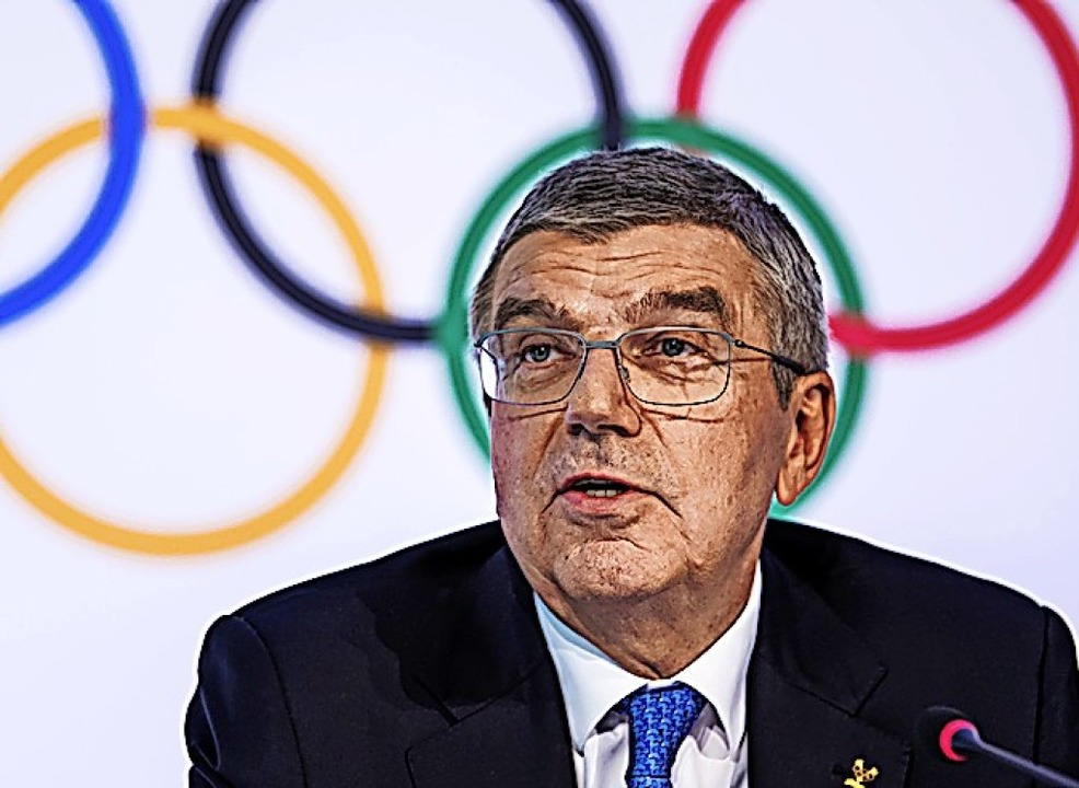 Intransparenz bei der Vergabe der Spiele? IOC-Chef Thomas Bach  | Foto: Jean-Christophe Bott (dpa)
