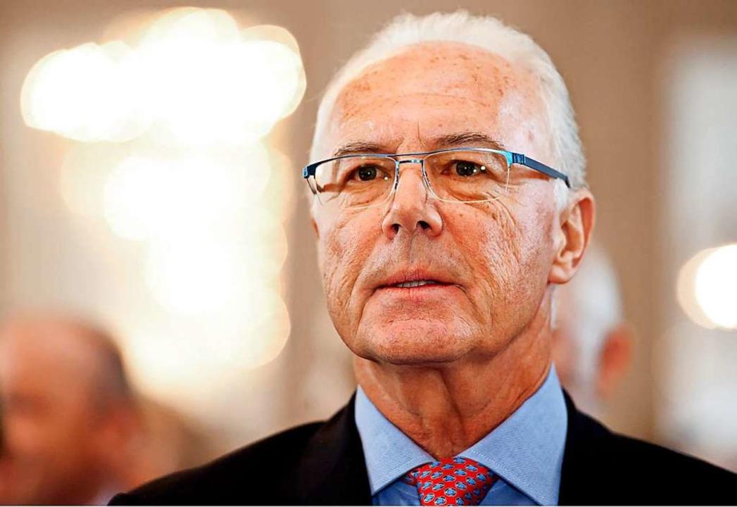 Franz Beckenbauer, hier ein Bild aus dem Jahr 2011  | Foto: Sven Hoppe (dpa)