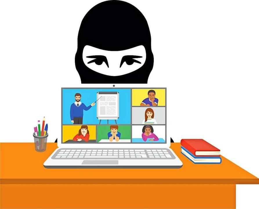 Im Normalfall läuft der Online-Unterricht ohne Störungen.  | Foto: vectorikart/wectorcolor (stock.adobe.com)