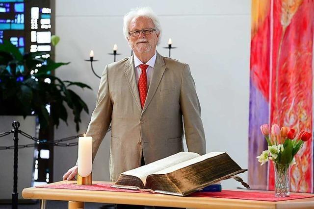 Nach zehn Jahren in Freiburg geht Baptisten-Pfarrer Christoph Weichert in den Ruhestand
