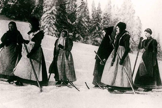 Studenten und Städter machten den Skilauf im Schwarzwald populär