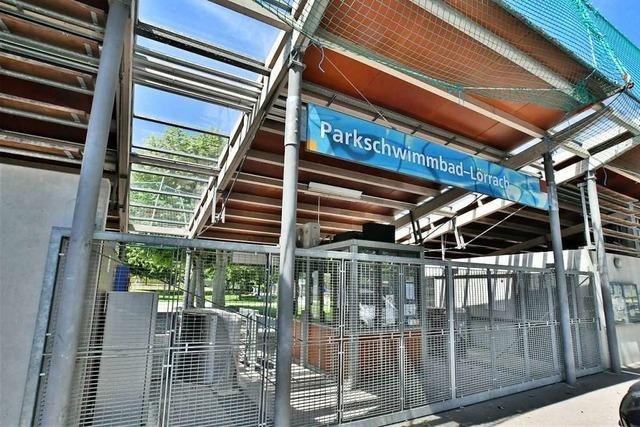 Das Parkschwimmbad in Lörrach hofft auf Öffnung im Mai