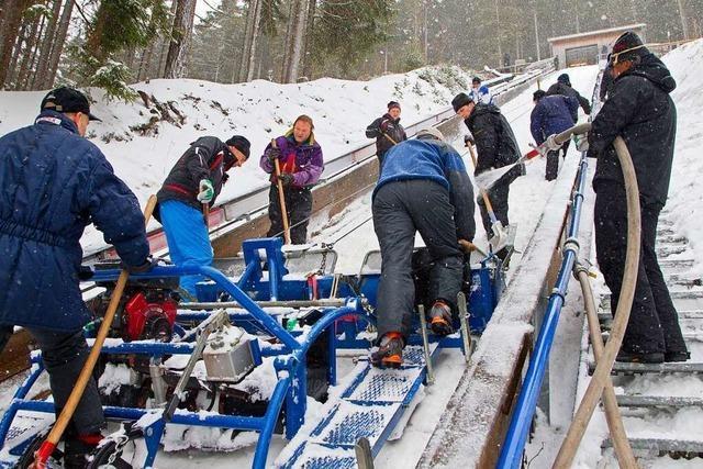 Schanzenteam ist der Garant für den Neustädter Skisprung-Weltcup