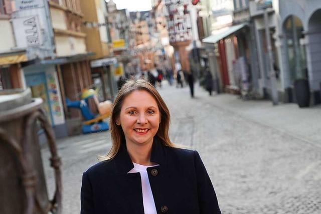 Sandra Boser (Grüne) will umsteigen auf Nachhaltigkeit