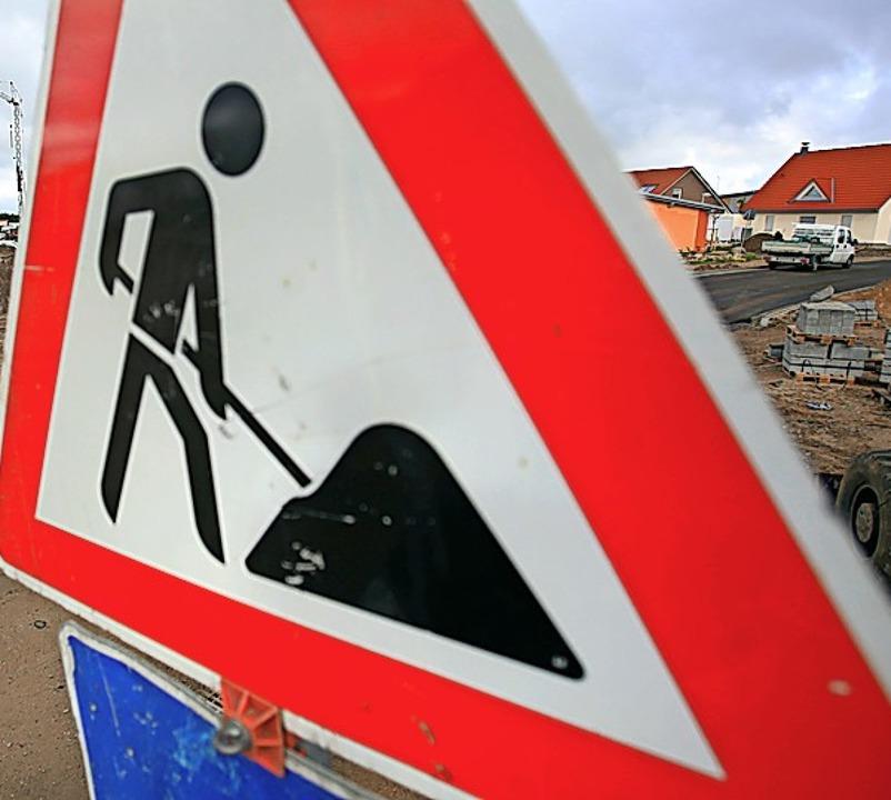 Auf einer Baustelle hat nicht jeder Zutritt.  | Foto: Jens Büttner