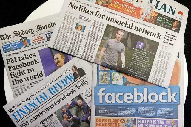 Facebook und Werbeeinnahmen: Bekommt Deutschland eine australische Lösung?