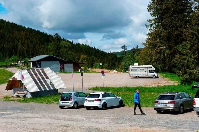 Der Wanderparkplatz auf dem Radschert wird gebührenpflichtig