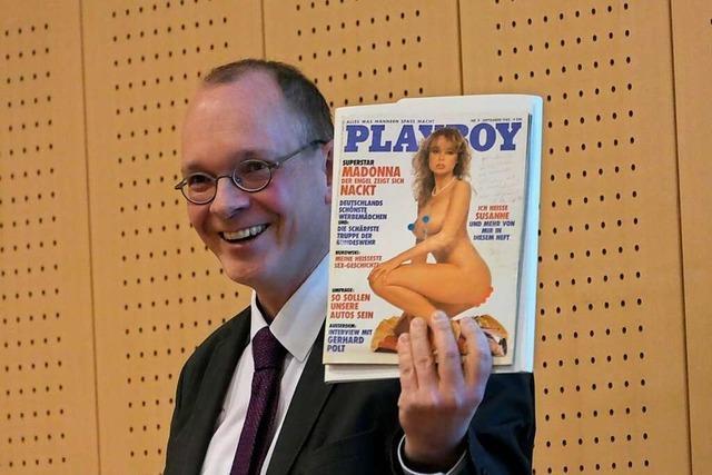 Der Mann, der den Playboy in der Akte fand