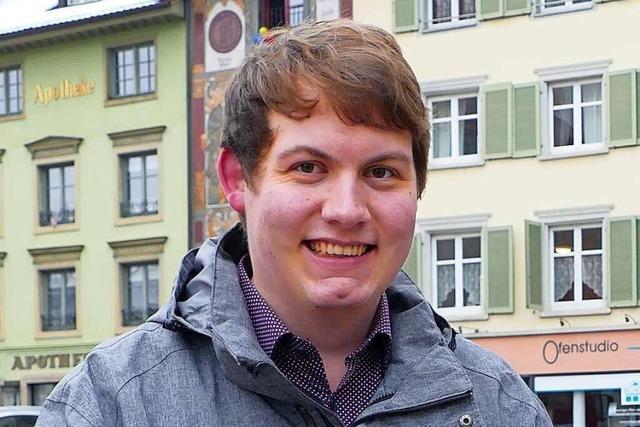 Niklas Nüssle (Grüne) glaubt an die Innovationskraft im Land