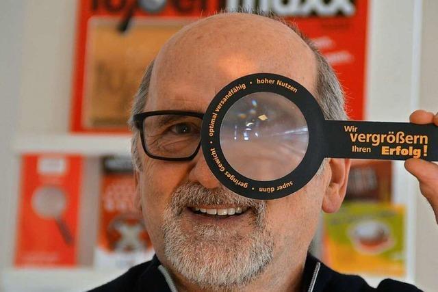 Ein-Mann-Betrieb aus Kirchzarten liefert Lupen nach ganz Europa