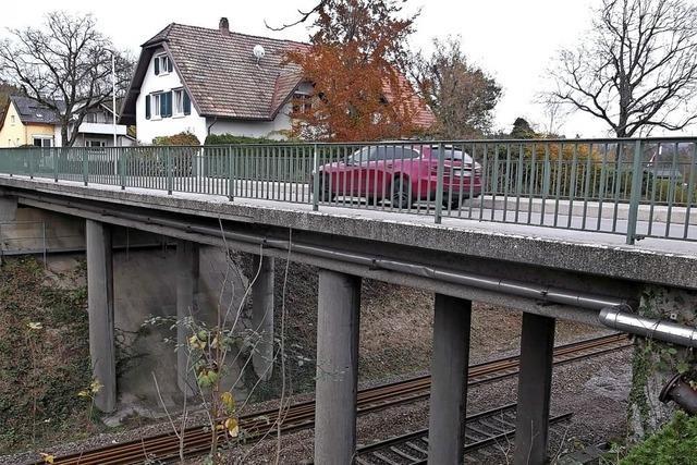 Neue Brücke mit Radweg