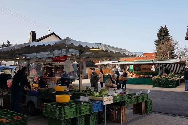 Der attraktiver Rathausplatz in Maulburg kommt gut an