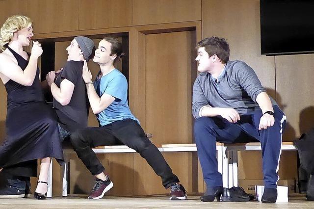 Theaterszenen mit wenig Akteuren
