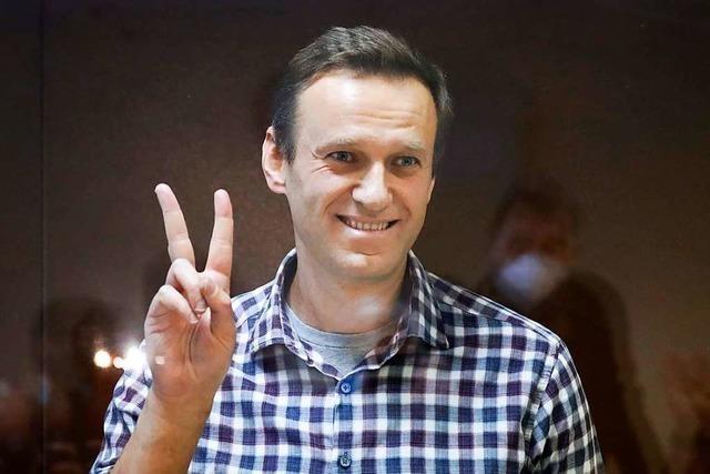 Alexej Nawalny erwarten im russischen Straflager Willkür und Grausamkeit