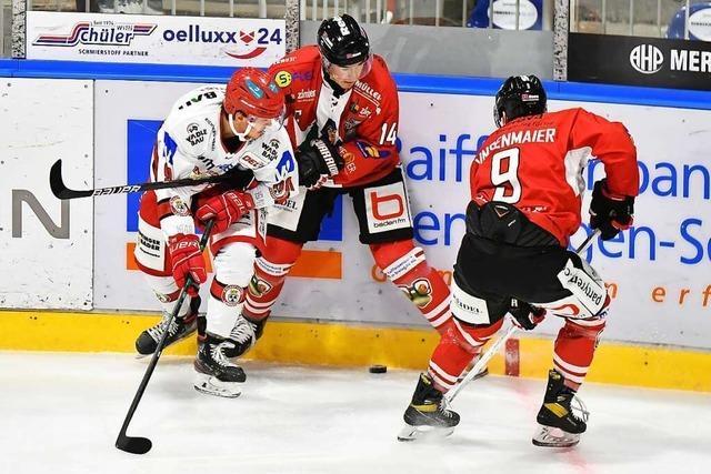 EHC Freiburg holt gegen Landshut den neunten Sieg in Folge