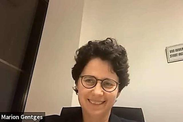 Marion Gentges (CDU) im BZ-Fragenwirbel: