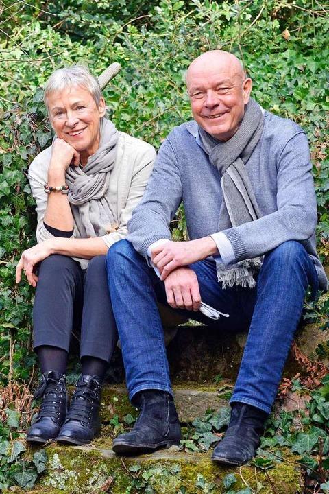 Renate Heyberger und Hans-Albert Stechl    Foto: Michael Bamberger