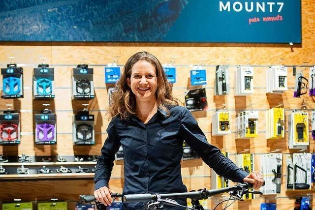 Mountainbikerin Adelheid Morath will Sport und Beruf unter einen Hut bekommen