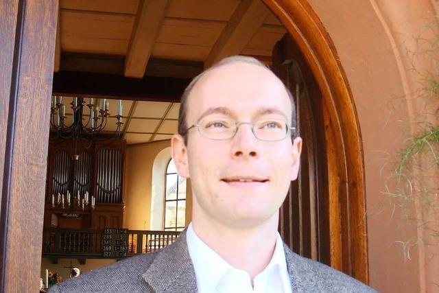 Die Kirchengemeinde Efringen-Kirchen muss sich von Steffen Mahler verabschieden