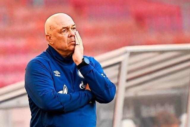 Nach 1:5-Niederlage: Schalke stellt Trainer Gross und Sportchef Schneider frei
