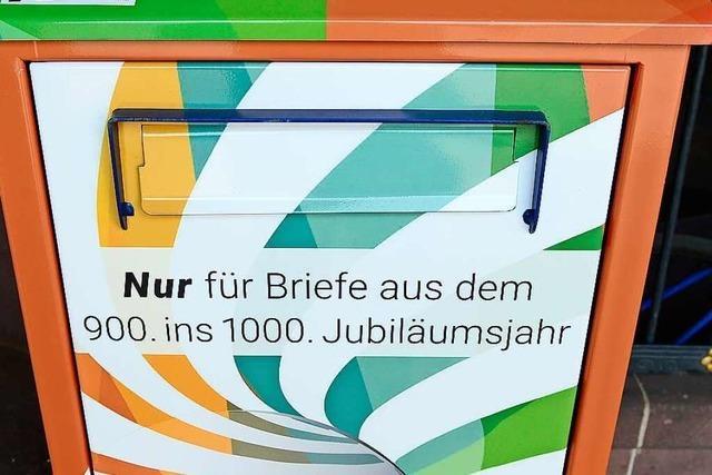 Freiburg sammelt Briefe, die erst in 100 Jahren gelesen werden sollen