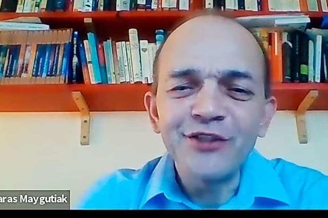 Taras Maygutiak (AfD) im BZ-Fragenwirbel: