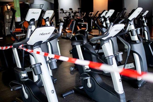 Das Fitnesscenter Balk in Lahr sieht keine Lockerung in Sicht