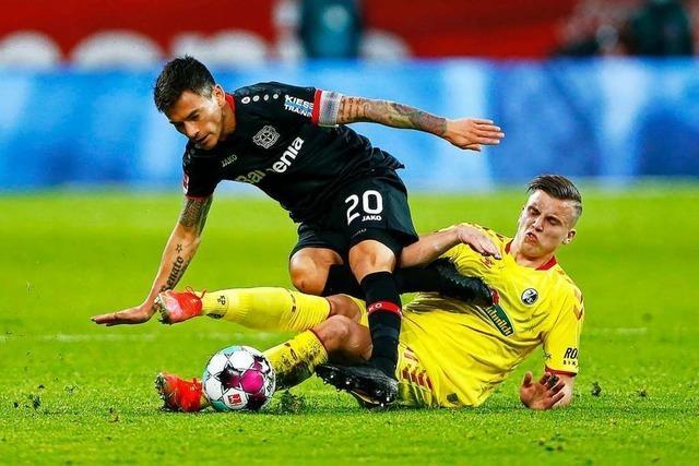 SC Freiburg nutzt Leverkusens Fehler und gewinnt mit 2:1