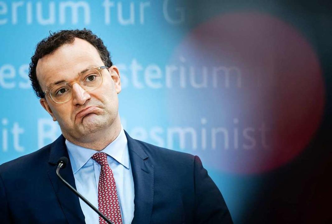 Jens Spahn  | Foto: Bernd von Jutrczenka (dpa)