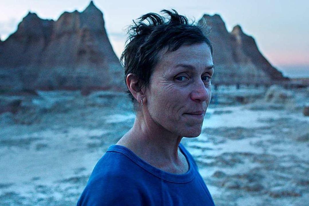 """Das Road-Movie """"Nomadland""""...n Globe als bestes Filmdrama gewonnen.    Foto:  (dpa)"""