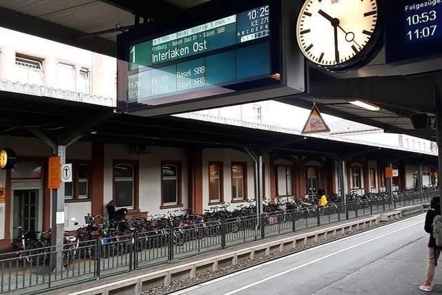 Ab Montag kein barrierefreier Zugang zu Gleis 1 und 2 am Offenburger Bahnhof