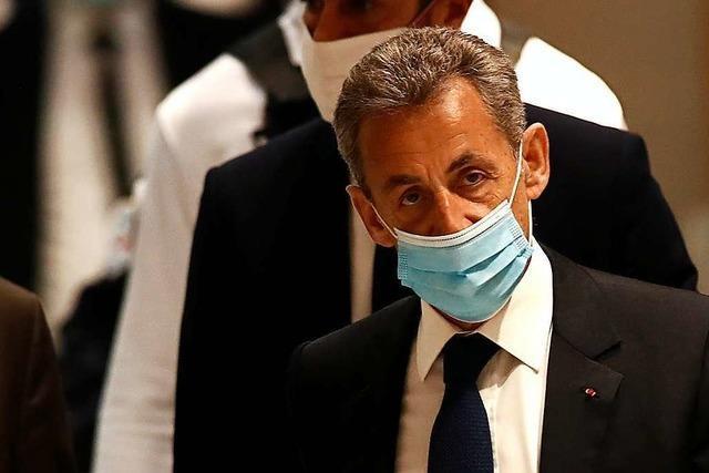 Frankreichs Ex-Präsident Sarkozy zu Haftstrafe verurteilt