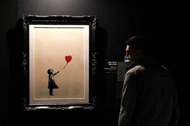 Eine Ausstellung in Basel nähert sich Banksy über seine Kunst an