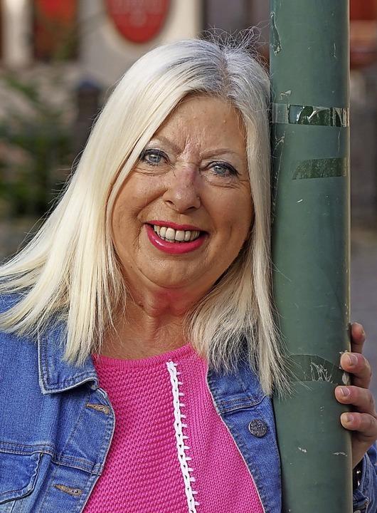 Astrid Müller aus Wehr macht beim Mund... spielt leidenschaftlich gern Theater.    Foto: Roswitha Frey