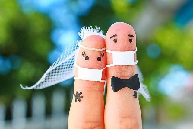 Pandemiebedingt geht der Trend zu kleinen, intimen Hochzeitsfeiern