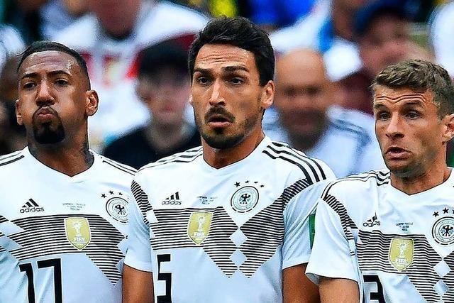 Erhalten Thomas Müller, Mats Hummels und Jerome Boateng noch eine Chance bei Bundestrainer Löw?