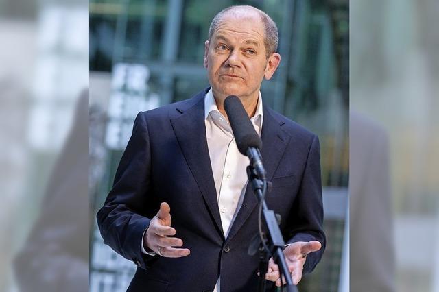 Scholz wagt mehr Sozialdemokratie