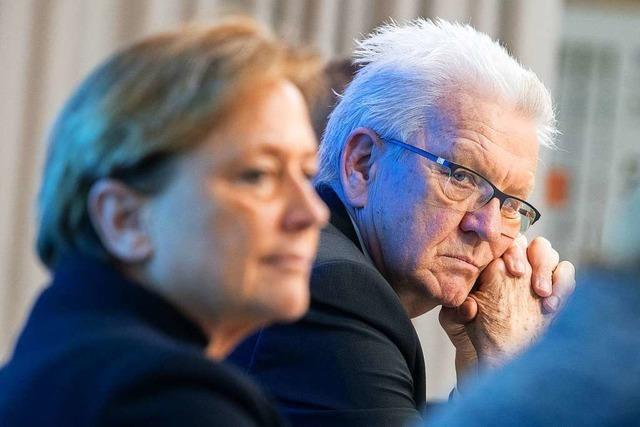 TV-Duell zur Landtagswahl zeigt Koalitionspartner im Angriffsmodus
