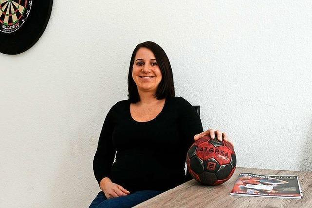 Sarah-Catherine Wohlschlegel und die Freude am Handball