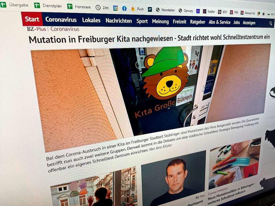 BZ-Online ist die offizielle Internets...Nachrichten aus Südbaden und der Welt.    Foto: Carolin Buchheim
