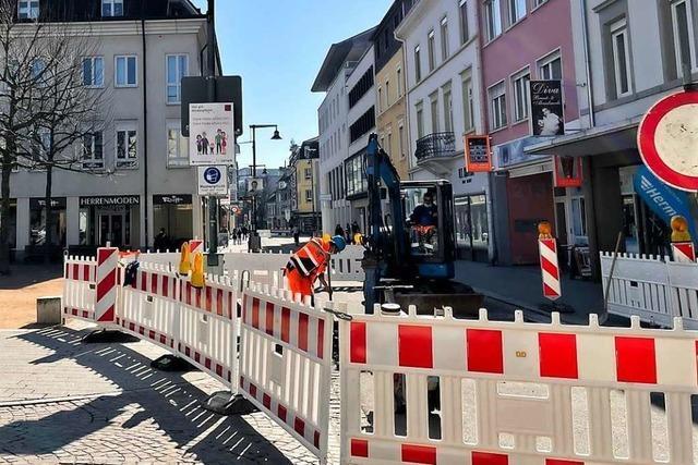 Der Bau der neuen Polleranlagen in Lörrach hat begonnen