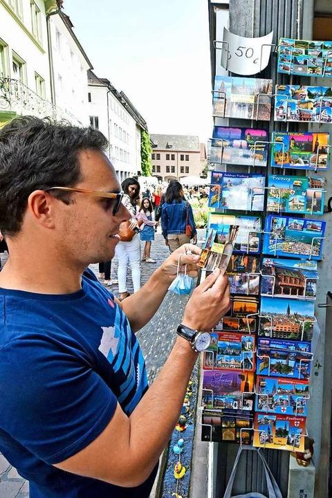 Kurzzeitig kamen im Sommer wieder mehr Touristen nach Freiburg.  | Foto: Michael Bamberger