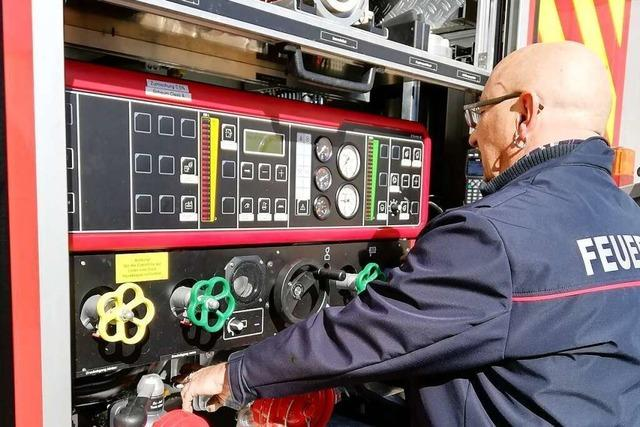 Die Feuerwehr Weil am Rhein bekommt ein neues Messtechnikfahrzeug
