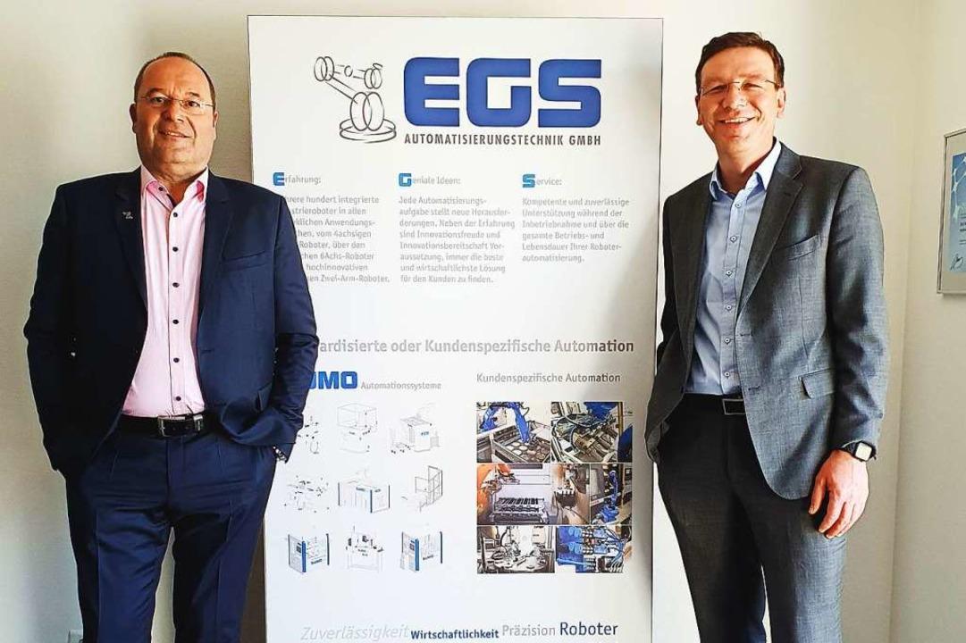 Uwe Lorenz, Geschäftsführer von Dunker... Konzern gehörende Dunkermotoren GmbH.  | Foto: Dunkermotoren