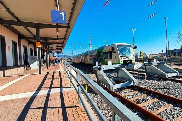 Alle Landtagskandidaten wollen die Bahnlinie nach Colmar